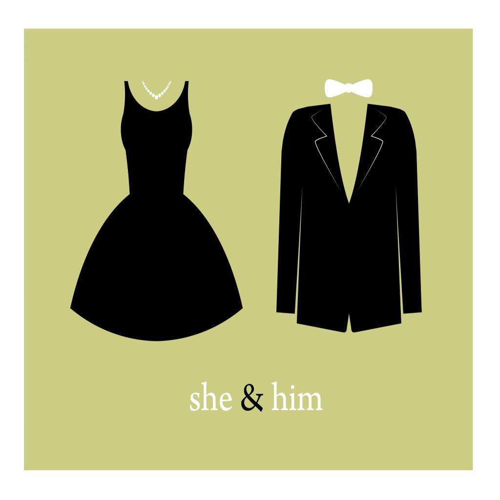 She & Him LOGO